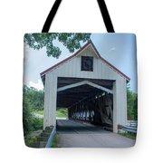 Ashtabula Collection - Mechanicsville Road Covered Bridge 7k0207 Tote Bag