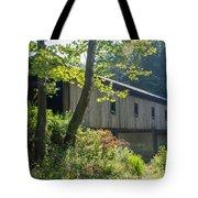 Ashtabula Collection - Olin's Covered Bridge 7k01977 Tote Bag