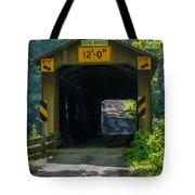 Ashtabula Collection - Olin's Covered Bridge 7k01978 Tote Bag