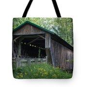 Ashtabula Collection - Riverdale Road Covered Bridge 7k02981 Tote Bag