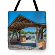 Ashtabula Collection - West Liberty Covered Bridge 7k02064 Tote Bag