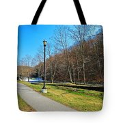 Ashuelot River In Hinsdale Tote Bag