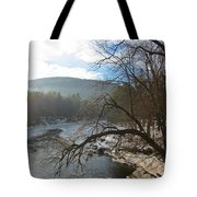 Ashuelot Sunrise Tote Bag