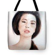 Asian Beauty Tote Bag