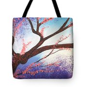 Asian Bloom Triptych 1 Tote Bag
