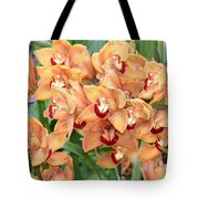 Asian Corsage Orchid Tote Bag