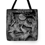 Asian Intricacy Tote Bag