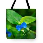 Asiatic Dayflower Tote Bag