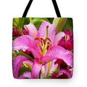 Asiatic Lily Tote Bag