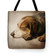 Asleep Tote Bag