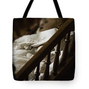 Asleep In The Darkness Tote Bag