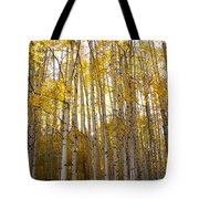 Aspen Autumn Tote Bag