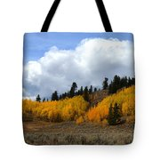 Aspen Hillside Tote Bag