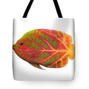Aspen Leaf Tropical Fish 1 Tote Bag