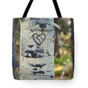 Aspen Love Tote Bag