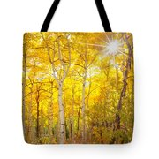 Aspen Morning Tote Bag by Darren  White