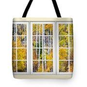 Aspen Tree Magic Cream Picture Window View 3 Tote Bag by James BO  Insogna