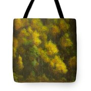 Aspens And Cattails Tote Bag