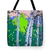 Aspensincolor Green Tote Bag