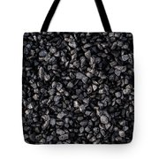 Asphalt Gravel Tote Bag by Hakon Soreide