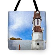 Aspiring Chapel Impasto Tote Bag