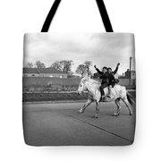Aspiring Cowboys In Dublin 1961 Tote Bag