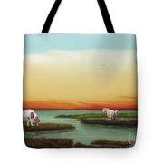 Assateague Island Sunset Tote Bag