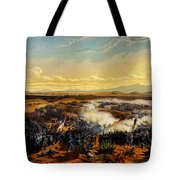 Assault Of Contreras 1851 Tote Bag