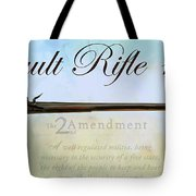 Assault Rifle Tote Bag