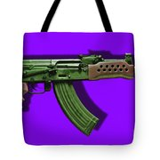 Assault Rifle Pop Art - 20130120 - V4 Tote Bag