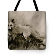 Assessing The Situation Black And White Tote Bag