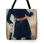 Assiniboine Warrior In Regimental Tote Bag