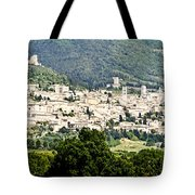 Assisi Italy - Medieval Hilltop City Tote Bag
