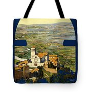 Assisi Italy Tote Bag by Georgia Fowler