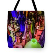 Assorted Colored Bottles Tote Bag