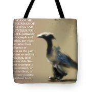 Assuming Corvus Tote Bag