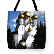 Assumption Cathedral Yaroslavl Russia Tote Bag