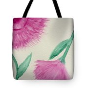 Aster In The Pink Tote Bag