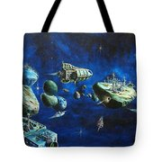 Asteroid City Tote Bag by Murphy Elliott