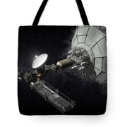 Asteroid Mining And Processing Tote Bag