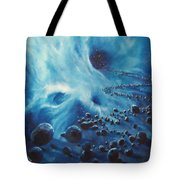 Asteroid River Tote Bag