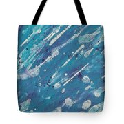 Asteroid Shower Tote Bag