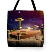 Asteroid Terminal Tote Bag