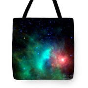 Asteroid Zips By Orion Nebula Tote Bag