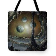 Asteroid's Eye Tote Bag