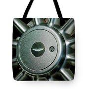 Aston Martin Db7 Wheel Emblem Tote Bag