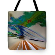 Astract Light Tote Bag