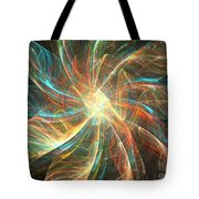Astral Flower Tote Bag