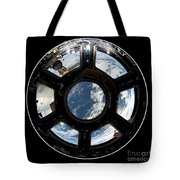 Astronauts View From The Space Station Tote Bag