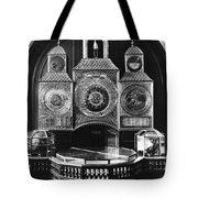 Astronomical Clock, C1750 Tote Bag